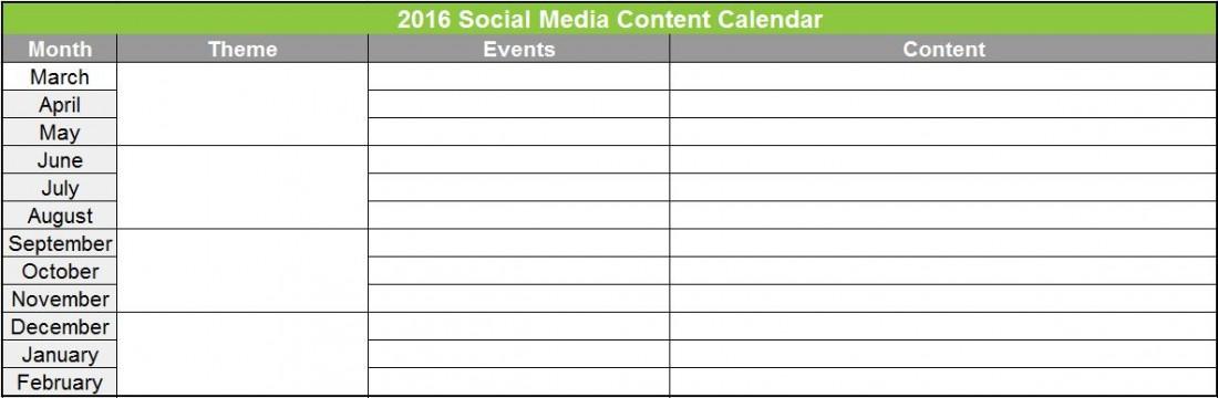 How To Outline An Hvac Social Media Content Calendar Mascola B2b